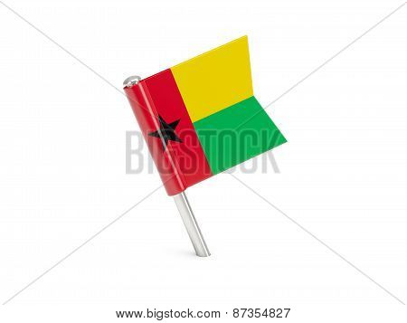 Flag Pin Of Guinea Bissau