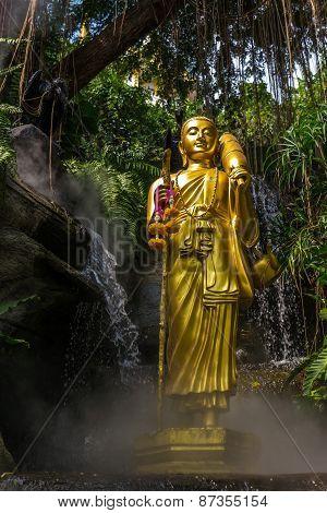 Dhutanga Forest Monk Statue