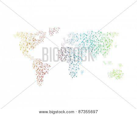 World color map, easy editable