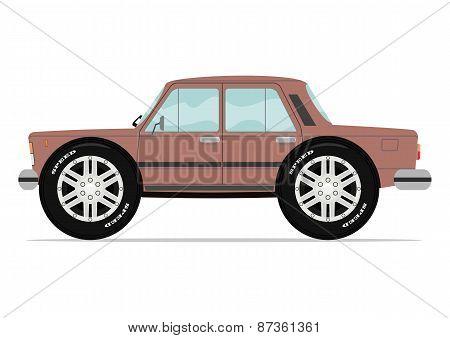 Funny sedan