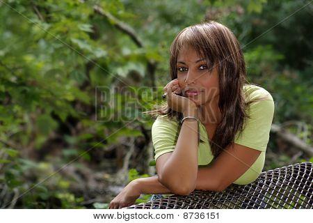 Beautiful Black Woman Outdoors (3)