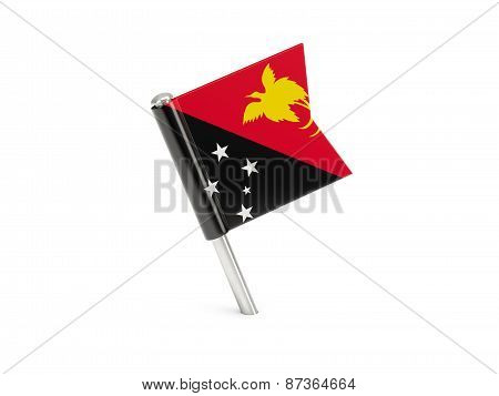 Flag Pin Of Papua New Guinea