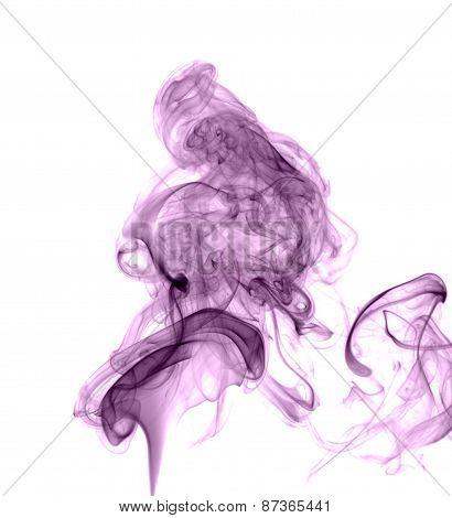 Abstract Colored Smoke