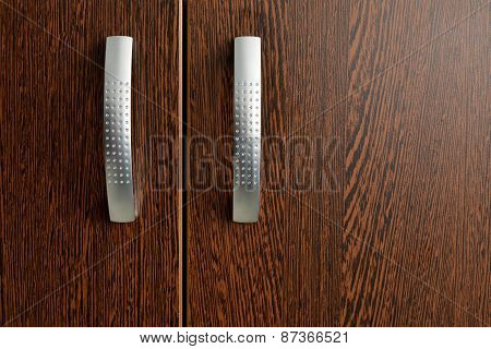 Isolated Cabinet Handles