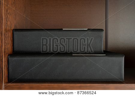 Two Special Book On A Shelf