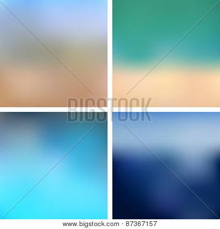 Sea Blurred Backgrounds