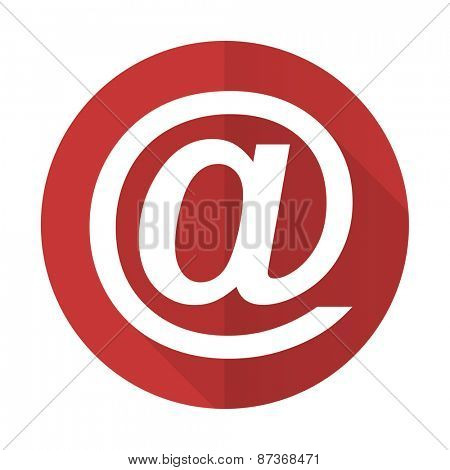 email red flat icon