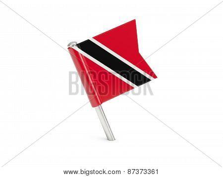 Flag Pin Of Trinidad And Tobago