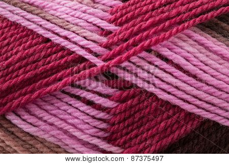 Wool Yarn Close Up Background