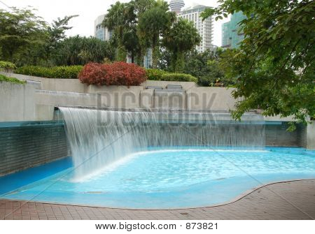 Wading Pool In Public Park 2