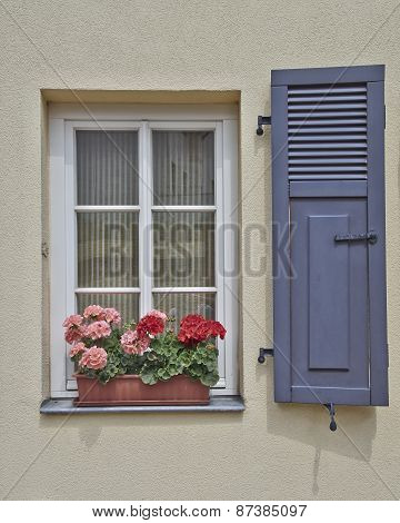 House window, Altenburg Thuringia Germany