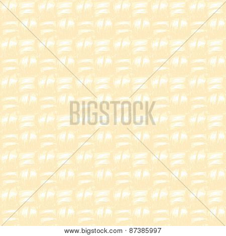 Yellow canvas texture Seamless vector background Hand drawn
