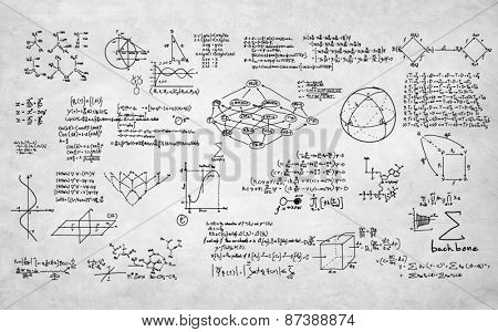 Formula Mathematics Equation Mathematical Symbol Geometry Information Concept
