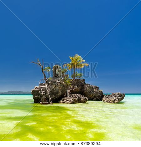 Willy's Rock In Boracay, Philippines