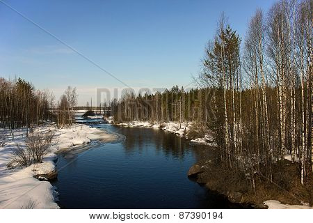 Karelian River Onigma Spring