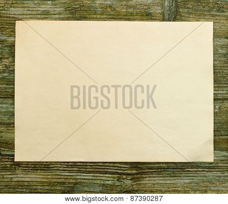 paper empty old blank wooden table wall texture
