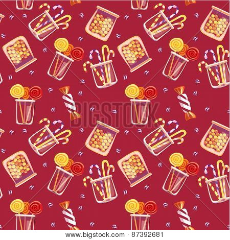 Pattern With Sweets