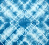 picture of tied  - Abstract tie dyed fabric background  - JPG