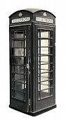 pic of phone-booth  - Classic British phone booth in London UK - JPG