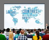 picture of racial diversity  - Countries Society Diverse Communications Concept - JPG