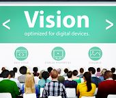 picture of objectives  - Vision Direction Objective Seminar Conference Learning Goals Concept - JPG