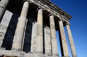 stock photo of armenia  - Colonnade of Garni temple - JPG