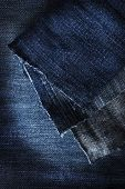 picture of denim jeans  - Blue denim jeans fabric macro - JPG