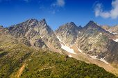 stock photo of italian alps  - Italy Italian Alps in Stelvio National Park - JPG