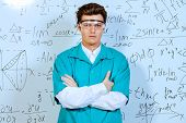 pic of conduction  - Young scientist conducting research - JPG