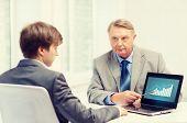 stock photo of older men  - business - JPG