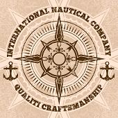 picture of nautical equipment  - compass - JPG