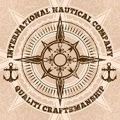 pic of nautical equipment  - compass - JPG