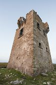 stock photo of martello  - Martello tower in Co Donegal - JPG