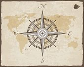 picture of compasses  - Vintage Nautical Compass - JPG
