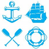 pic of life-boat  - Nautical marine and ocean elements - JPG