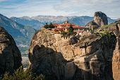 stock photo of trinity  - Image of monastery of Holy Trinity in Meteora Greece - JPG
