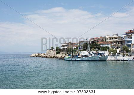 Boats In Marine Skala Marion