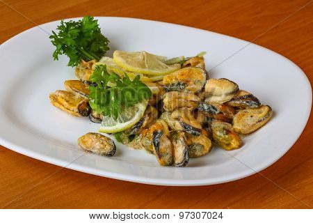 Mussels In Butter Sauce
