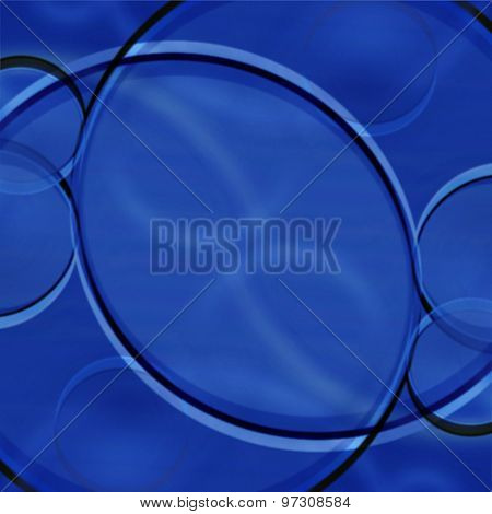 Abstract Background In Shades Of Blue And White