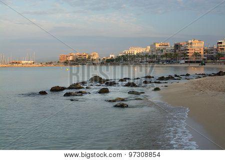 Dawn On Playa De Palma