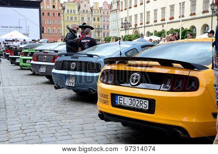 Ford Mustang Race