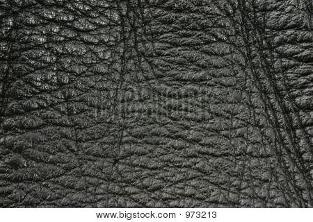Black Leather Texture Details