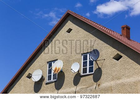 Too many satellite dishes