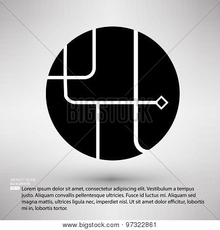 Ways of solution circle company symbol design