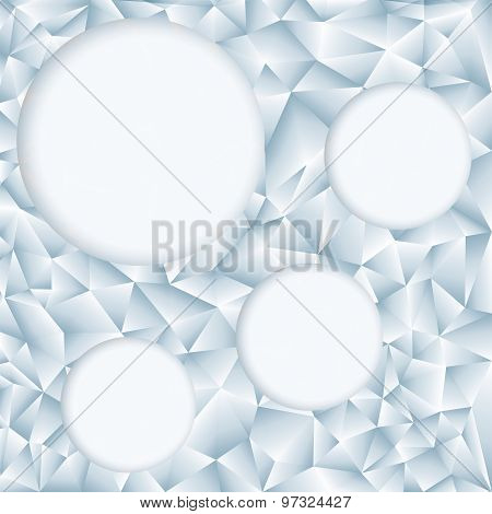Retro Pattern Of Geometric Shapes. Geometric Hipster Retro Background With Place For Your Text. Retr