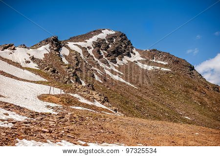 Peak Of Cheget Mount - About 3000-3050 M