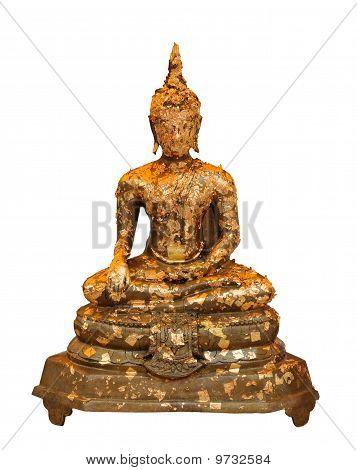 Golden Buddha Sitting