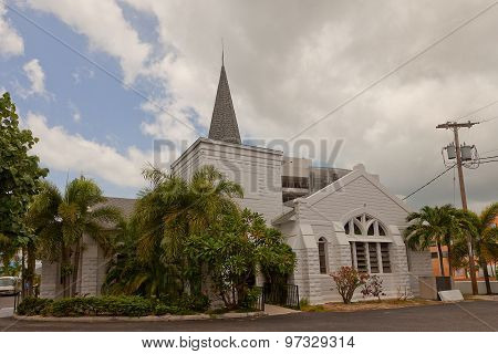 Elmslie Memorial Church In George Town Of Grand Cayman