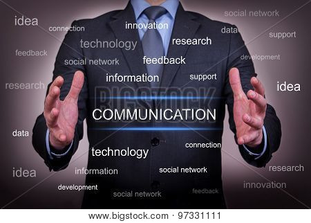 Communication Between Two Hand