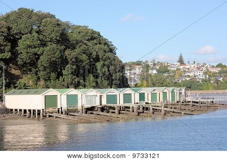 Historic Boatsheds.